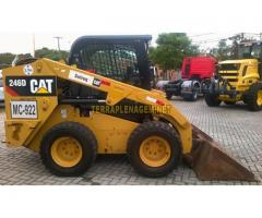 Minicarregadeira Caterpillar CAT 246D