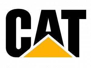 Logomarca CAT da Caterpillar.