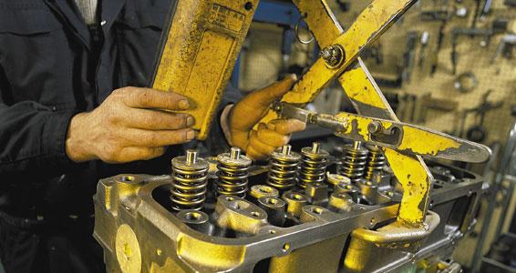 A remanufatura de componentes é uma forma sustentável e barata para manutenção de equipamentos.