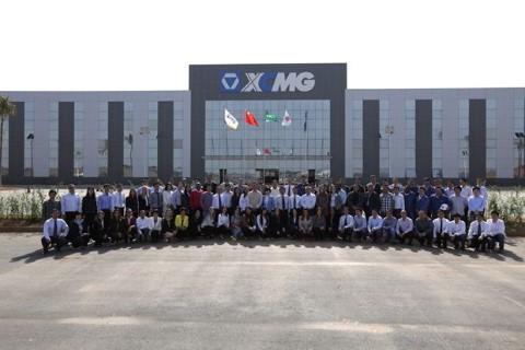 Fábrica da XCMG em Pouso Alegre