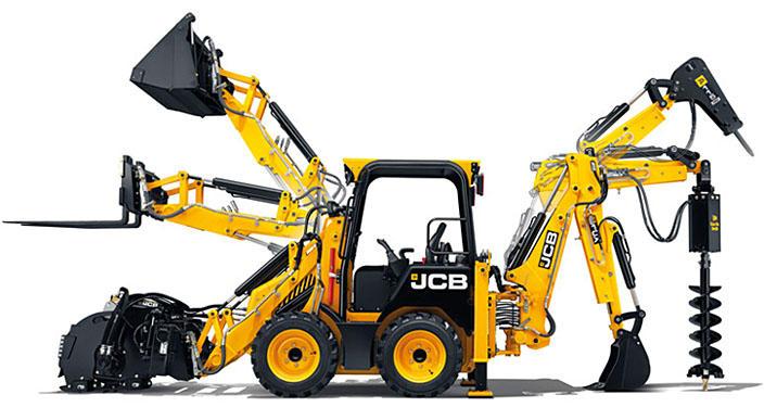 Miniretroescavadeira JCB 1CX