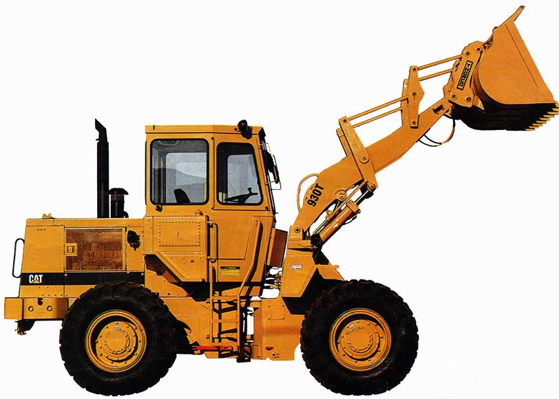 Pá Carregadeira Caterpillar 930T nova.