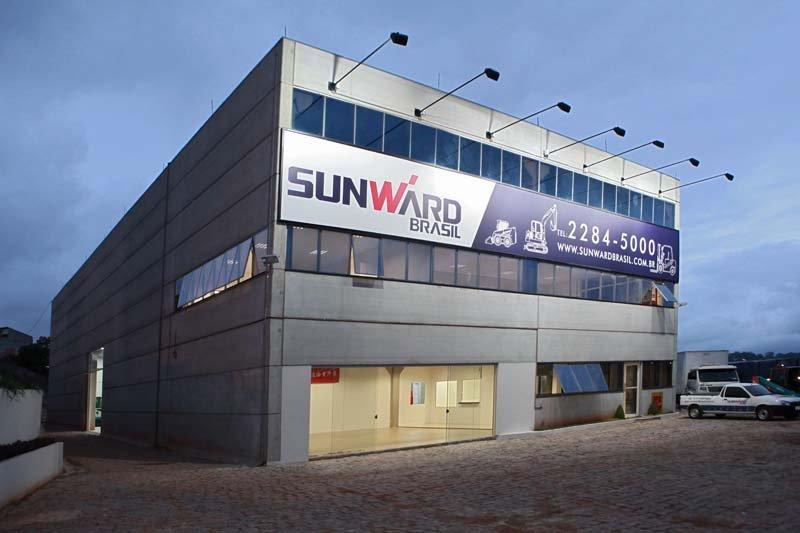 Prédio da sede da Sunward Brasil, em Osasco, cidade da Grande São Paulo.